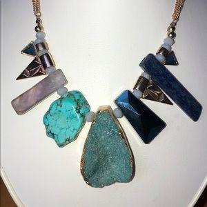 Stunning Multi-Stone Necklace